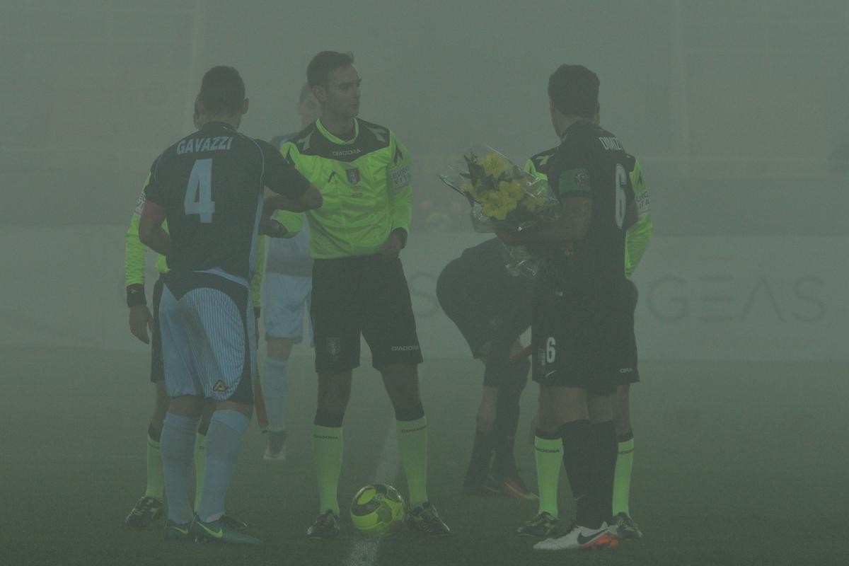 """12 Dicembre 2016 (18^ giornata di andata) Albinoleffe-Venezia Campionato Lega Pro - 2016/17 Girone B Bergamo: """"Stadio Atleti Azzurri d'Italia"""" Nella foto: Photo: Michele Maraviglia/Bergamo&Sport"""
