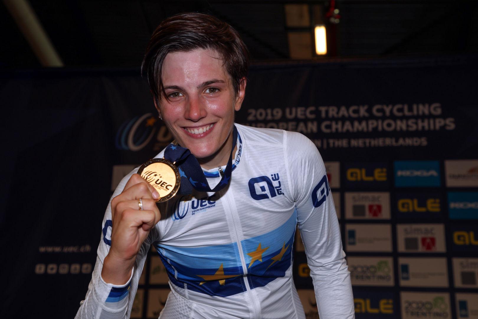 Ciclismo: la Confalonieri vince oro a punti